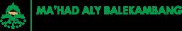 Mahad Aly Balekambang